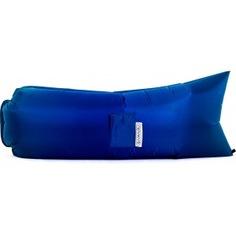 Надувной диван биван классический, цвет синий bvn18-cls-blu