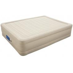 Надувная кровать, встроенный электронасос с автоподкачкой bestway alwayzaire fortech 203х152х43см 69032 bw