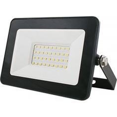 Светодиодный энергосберегающий плоский прожектор союз sflsled-dob-30-865-bl-ip65 1288