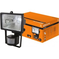 Прожектор галогенный черный tdm ио500д sq0302-0012