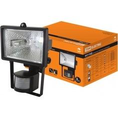 Галогенный прожектор детектор черный tdm ио150д sq0302-0011