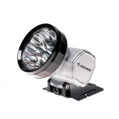 Налобный аккумуляторный фонарь космос accu h10 led 10led, 300mah kocaccuh10led