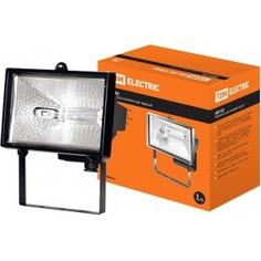 Галогенный прожектор черный tdm ио150 sq0301-0002