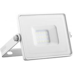 Светодиодный прожектор 2835 smd 20w 6400k ip65 ac220v/50hz, белый с матовым стеклом 114*121*26мм feron ll-919 29494