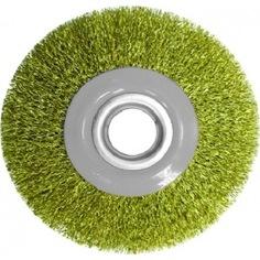 Щетка крацовка дисковая с комплектом переходников (150 мм; 32 мм) biber 70979 тов-076224