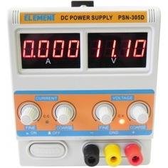 Лабораторный блок питания element 305d 15305 (30v, 5a)