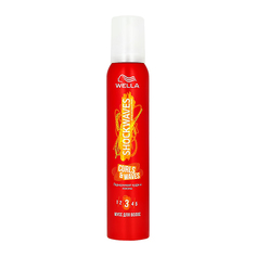 Мусс для волос WELLA SHOCKWAVES Curls & Waves 200 мл