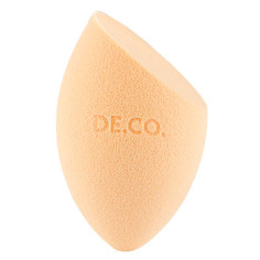 Спонж для макияжа DE.CO. PREMIUM срезанный без латекса Deco