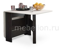 Стол обеденный Т1 венге цаво/дуб белфорт Мебель Трия