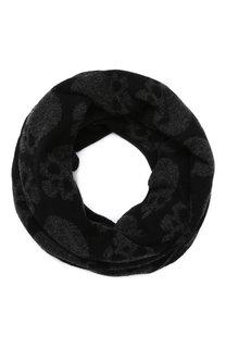 Шерстяной шарф-снуд Gemma. H