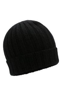 Кашемировая шапка фактурной вязки Allude
