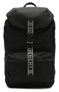 Текстильный рюкзак с логотипом бренда Givenchy