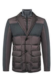 Пуховая куртка Arnold на пуговицах Moncler