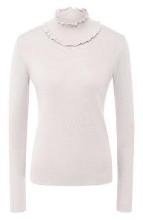 Пуловер из смеси шерсти и кашемира с воротником-стойкой Giorgio Armani