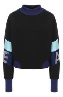 Пуловер с воротником-стойкой Emporio Armani