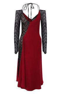 Платье-миди с открытыми плечами Roland Mouret