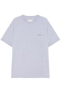 Серая футболка с надписью Ih Nom Uh Nit