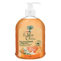 LE PETIT OLIVIER Мыло жидкое марсельское Цветок апельсина