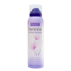 BEAUTY FORMULAS Дезодорант для женской интимной гигиены