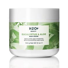 H2O+ Скраб для тела Eucalyptus & Aloe Body Scrub