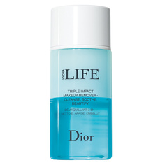DIOR Средство для снятия макияжа с глаз, губ и бровей с тройным действием Dior Hydra Life bi-phasic make-up remover