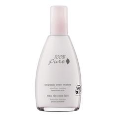 100% PURE Тоник органический эмульсионный Organic Rose Water Sensitive Skin Collection