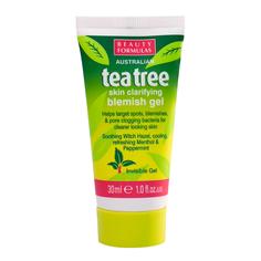 BEAUTY FORMULAS Гель устраняющий дефекты кожи Чайное дерево