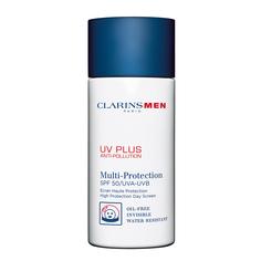 CLARINS Защитный флюид-экран для мужчин UV PLUS Anti-Pollution SPF 50