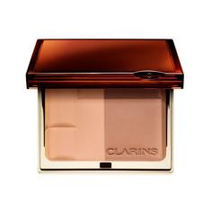 CLARINS Двухцветная компактная минеральная пудра SPF 15 Bronzing Duo