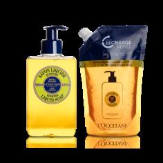 Набор «Дуэт жидкого мыла Вербена» LOccitane