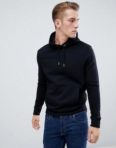 Черный худи с карманом New Look - Черный