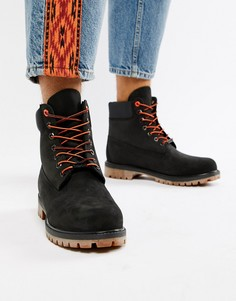 Черные ботинки высотой 6 дюймов Timberland Premium - Черный