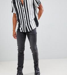 Черные выбеленные джинсы скинни Heart & Dagger - Черный