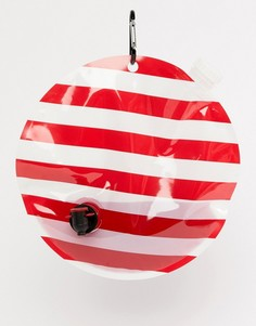 Фляжка в стиле новогоднего украшения с элементом для подвешивания Typo - Мульти