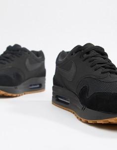Черные кроссовки Nike Air Max 1 AH8145-007 - Черный