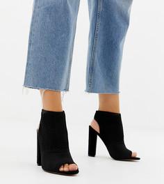 Туфли на каблуке для широкой стопы ASOS DESIGN Hissy - Черный