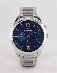 Наручные часы Tommy Hilfiger Deacan 44 мм - Серебряный