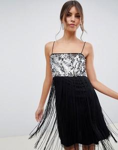 60175883266 Женские платья с бахромой – купить платье в интернет-магазине