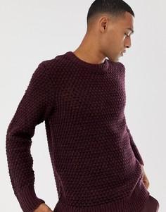 Джемпер сливового цвета Nudie Jeans Co - Фиолетовый