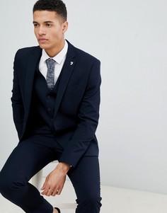 Приталенный пиджак Farah Hampton - Темно-синий