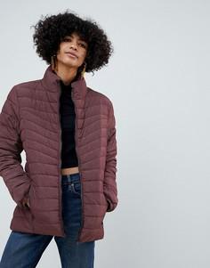 Короткая дутая куртка b.Young - Красный