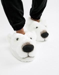 Слиперы полярный медведь Loungeable - Белый