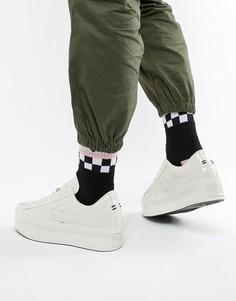 Белые кроссовки на платформе Converse One Star - Белый