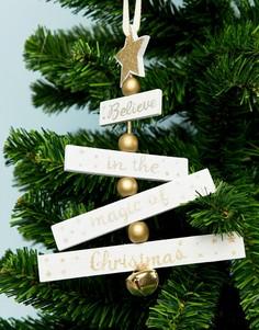 Новогоднее украшение Sass & Belle - Мульти