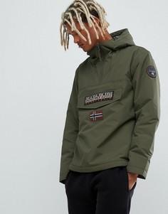 Зимняя куртка цвета хаки Napapijri Rainforest 1 - Зеленый