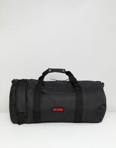 Черная нейлоновая сумка дафл с логотипом Globe - Черный