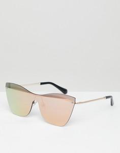 Солнцезащитные очки кошачий глаз Hawkers Collins - Золотой