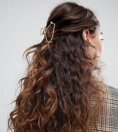 Заколка для волос с искусственным жемчугом Glamorous - Золотой