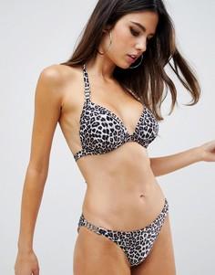 Плавки-бикини с леопардовым принтом Lipsy - Мульти