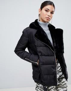 Куртка из цигейки Missguided - Черный
